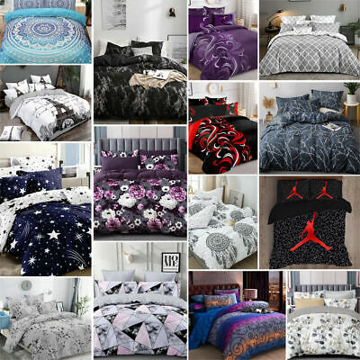 AU35 • Buy New Ultra Soft Quilt Doona Duvet Cover Set Single Double Queen Super King Bed