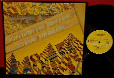 STEVE KINDLER Automatic Writing 1985 GLOBAL PACIFIC NEW AGE LP • 11.31£