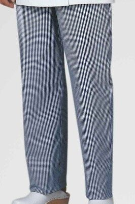 WOMEN'S CHEF TROUSER / COOK TROUSERS  - 100% Cotton - BRITISH MADE - TR68S • 6.95£