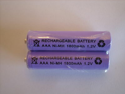 BT FREESTYLE 210 250 225 335 310 350  2x 1.2V 1800 MAh RECHARGEABLE BATTERIES • 3.30£