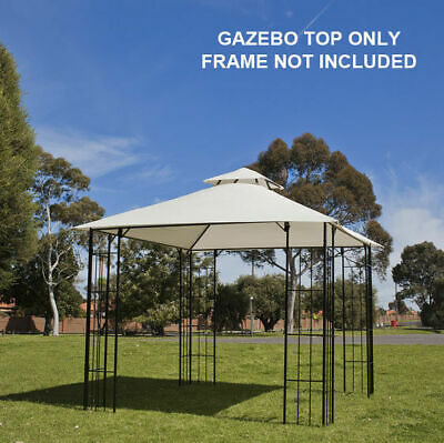 AU59.46 • Buy Gazebo Fabric Top ONLY 3x3m, Replacement For Outdoor Marquee Sunshade Gazebo
