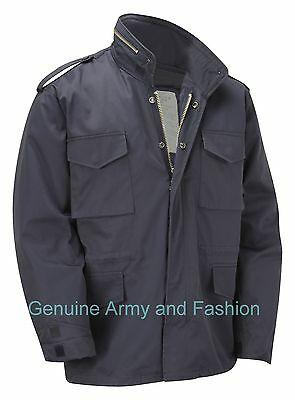 AU72.34 • Buy M65 Jacket Army Military Combat US Field Quilted Liner Winter Coat Vintage Navy