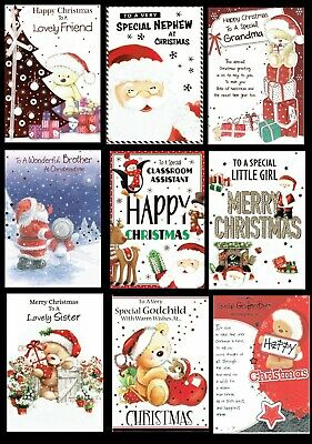 SOMETHING FOR EVERYONE ~ Quality ~ Cute Christmas Cards ~ ONLY 99p Each • 0.99£