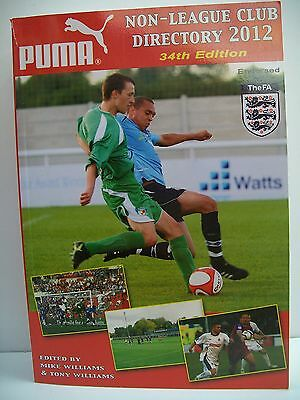 £24.99 • Buy Non-League Club Directory: 2012 By Tony Williams Publications (Paperback, 2011)