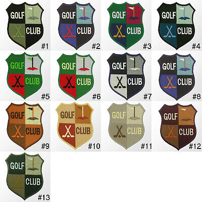 £2.79 • Buy #1124IR Golf Club Sport Jacket Embroidered Sew / Iron On Patch Badge Hotfix