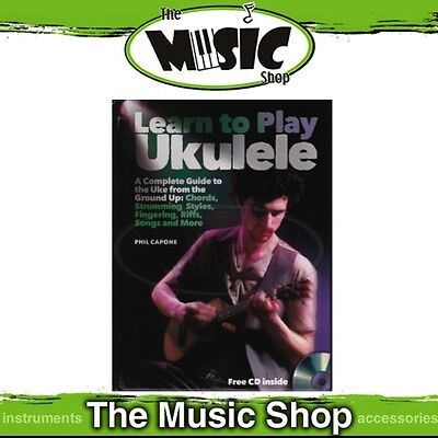 AU19.99 • Buy New Learn To Play Ukulele Book & CD