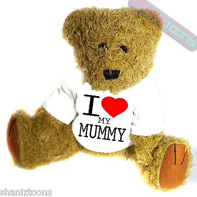 I Love My Mummy Novelty Gift Teddy Bear • 14.32£