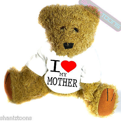 I Love My Mother Novelty Gift Teddy Bear • 14.32£