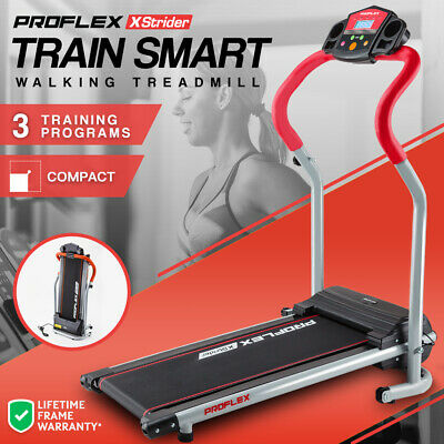 AU239 • Buy PROFLEX Electric Treadmill Compact Exercise Equipment Walking Fitness Machine