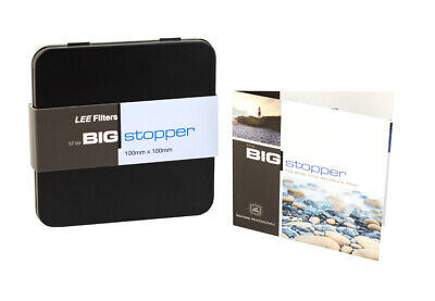 £121.44 • Buy LEE Filters - Big Stopper 10 Stop Neutral Density Filter (100 X 100mm) - NEW