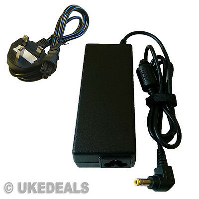 19v 90w Acer Aspire Pa-1900-05-qa Adapter Charger Psu + Lead Power Cord • 11.95£