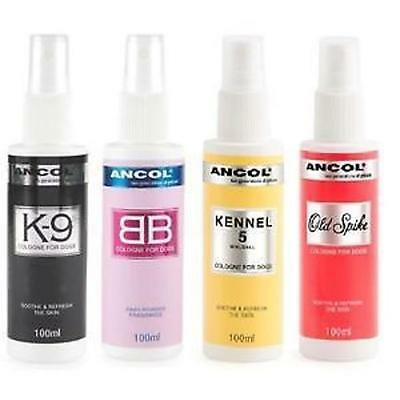 Ancol Dog Puppy Cologne BB K9 Kennel 5 Old Spike Grooming Refresh Spray Perfume  • 9.50£