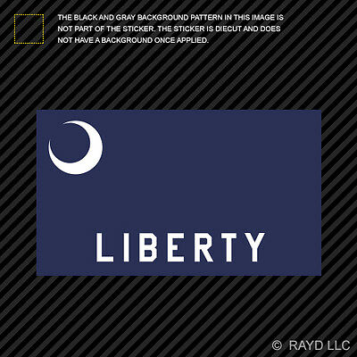 $3.99 • Buy Fort Moultrie Flag Sticker Decal Self Adhesive Vinyl Militia Liberty