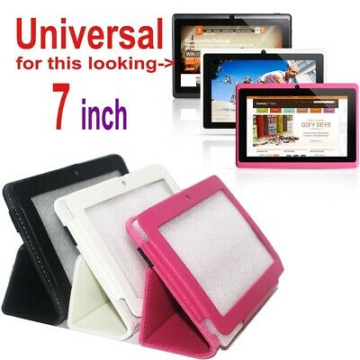 AU5.44 • Buy Universal PU Leather Case Cover Stand For 7  Tablet PC Q88 Type Only Black HLD