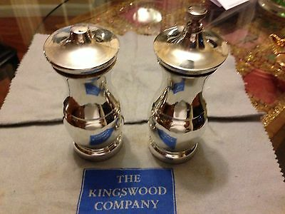 Tiffany & CO  LARGE  STERLING SILVER SALT AND PEPPER MILL/SHAKER • 555.93£