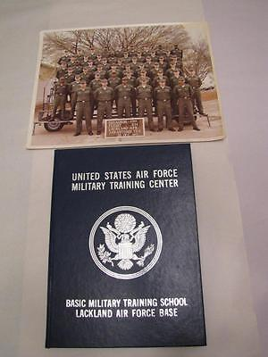 $99 • Buy United States Air Force Military Training Lackland 3704 614 1977 Yearbook Photo