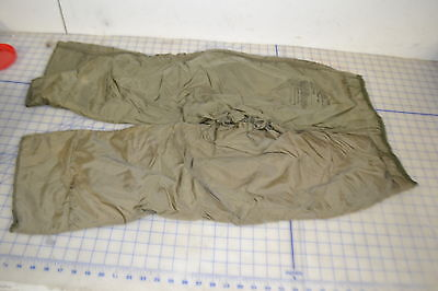 $19.95 • Buy M51 X-small Regular FIELD Trousers Pants LINER Used Good Cold Weather Freeze OD