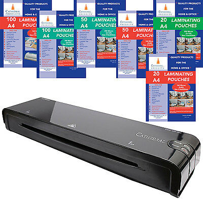 Cathedral Home & Office A3 A4 A5 Laminator / Laminating Machine Pouches Roller • 28.50£