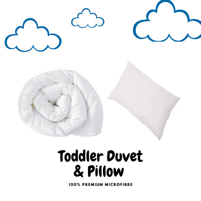 Non Allergenic Baby Cot Bed Duvet & Pillow All Sizes Junior - Sets And Separate • 11.97£