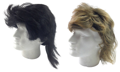 AU21 • Buy MULLET WIG 80s Fancy Dress Mens Party Costume Rock Bogan Accessory Punk 70s 90s