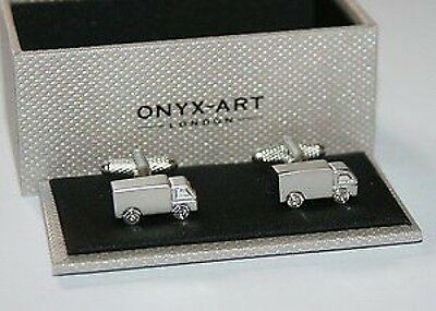 Novelty Mens Cufflinks - Lorry Truck Design *NEW* Boxed Gift • 17.75£