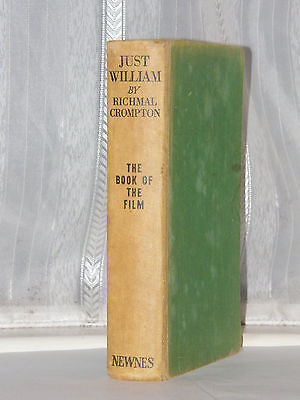 Richmal Crompton - Just William Story Of The Film 1st Ed 1939 • 12£