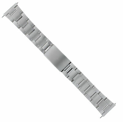 $ CDN53.27 • Buy 20mm Oyster Band Bracelet For Seiko Kinetic Diver Watch Solid Steel Straight End