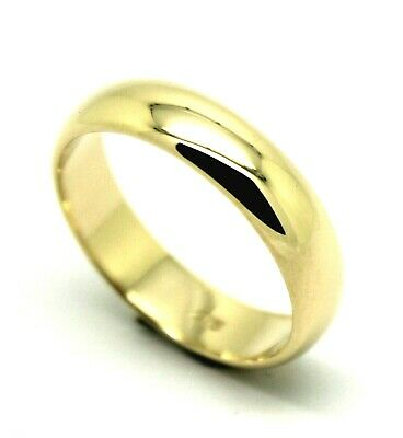 AU322.05 • Buy 5mm Genuine Solid 9ct Yellow/White/Rose Gold Wedding Band Ring Size N/7- Z+4/15