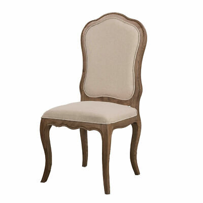 AU332 • Buy French Provincial Dining Chair Natural Oak Furniture NEW