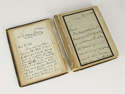 £900 • Buy Victorian Autograph Book Of 45 National Figures