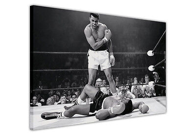 Muhammad Ali Boxing Legends Canvas Prints Pictures Wall Art Photos Famous Sports • 14.99£