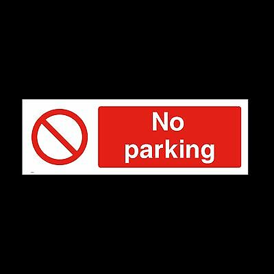 No Parking Sign, Sticker - All Sizes & Materials - Office, House,Private (PAR14) • 1.09£