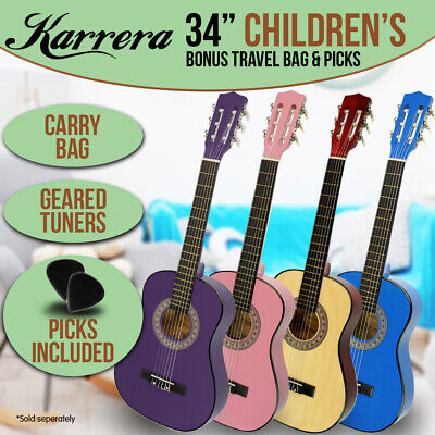 AU60 • Buy NEW CHILDRENS ACOUSTIC GUITAR IDEAL KIDS GIFT 34in