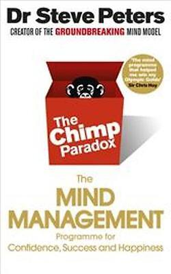 The Chimp Paradox - The Mind Management Programme By Dr Steve Peters NEW • 10.49£