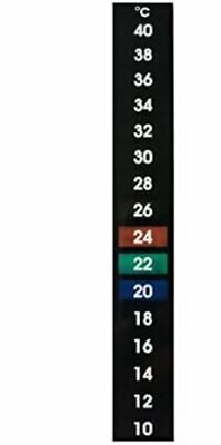 Lcd Thermometer Stick On Self Adhesive Temperature Strip For Beer/wine/aquarium • 2.97£