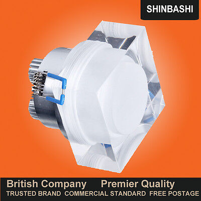 £59.10 • Buy PREMIER Dimmable LED Square Crystal Lens Ceiling Wall DownLight Lights UK