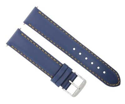 $ CDN37.47 • Buy 22mm Smooth Leather Watch Strap Band For 43mm Seiko Skx007k2 Watch Orange Stitch