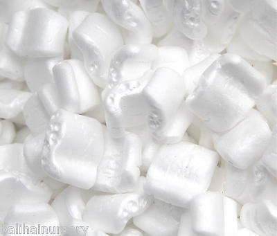 £21 • Buy Packing Peanuts S Shaped Polystyrene Loose Fill Horticultural Grade Repels Water