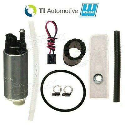 $109.98 • Buy GENUINE Walbro/TI Automotive 255LPH Intank Fuel Pump + Install Kit