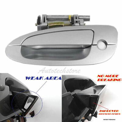 $19 • Buy UPGRADED For 02-06 NISSAN ALTIMA Outside Door Handle Front Left  KY1 Silver