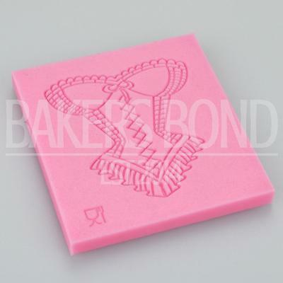 Sexy Corset Impression Pattern Texture Embossing Silicone Cake Fondant Print • 4.80£
