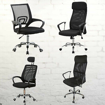 AU89.69 • Buy Executive Mesh Home Office Chair Computer Breathable Lumbar Support Swivel Lift