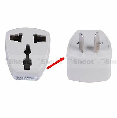 AU2.12 • Buy US EU Europe UK To AU Australia Power Plug Adapter Travel Converter For 220-240V