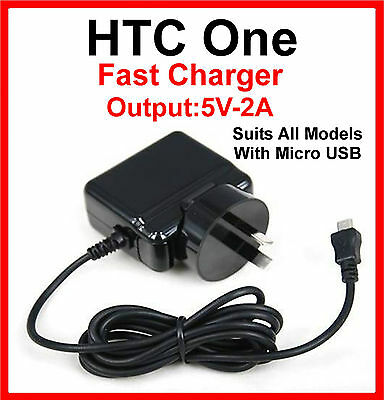 AU32.99 • Buy HTC One Mini 2 M8 AC Wall Charger