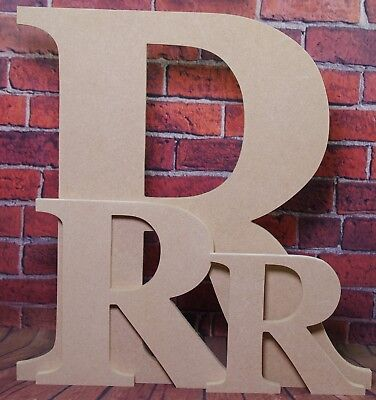 £8.95 • Buy Wooden Any Letters Made From MDF-Hand Made-Ready To Decorate,Names,Signs-Georgia