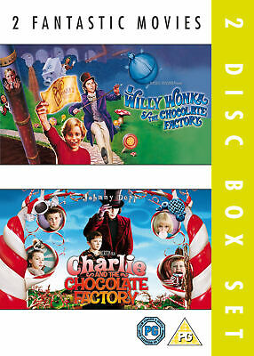 £6.99 • Buy Willy Wonka And The Chocolate Factory / Charlie And The Chocolate Factory (DVD)