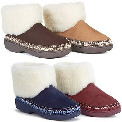 £12.95 • Buy Ladies Slippers Womens Luxury Warm Thermal Boots Ankle Bootie Fur Shoes Size
