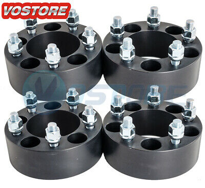$79.50 • Buy (4) 2 Inch 5x4.5 Black Wheel Spacers Adapters Fits Ford Mustang Ranger Explorer