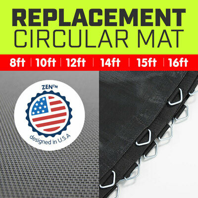 AU89 • Buy REPLACEMENT TRAMPOLINE SPRING MAT ROUND SPARE PART 6ft 8 10ft 12ft 13 14 15 16ft