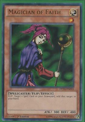 AU4.99 • Buy Yugioh Card - Magician Of Faith *Ultra Rare* DUSA-EN044 (NM/M)